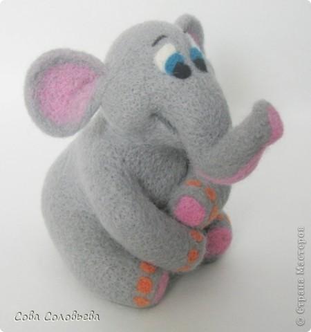 валяшка Слоненок. фото 2