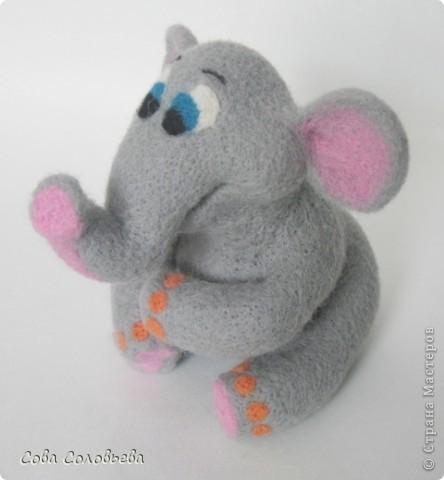 валяшка Слоненок. фото 3