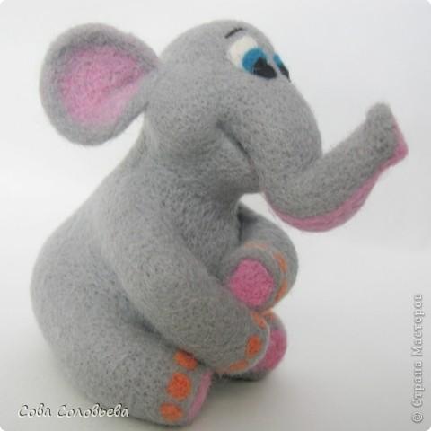 валяшка Слоненок. фото 4