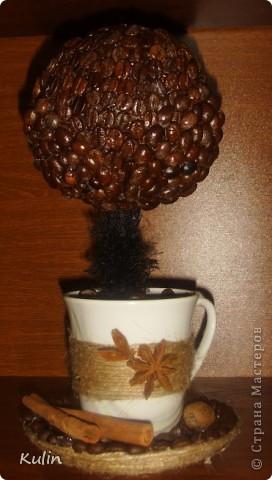 кофейное трио, высота 22 см,диаметр 14 см. В стране много уже есть чашек с блюдцем кофейный, но еще что бы с деревом,пока не видела(возможно ошибаюсь), вот решила попробовать создать композицию из трех кофейный предметов фото 12