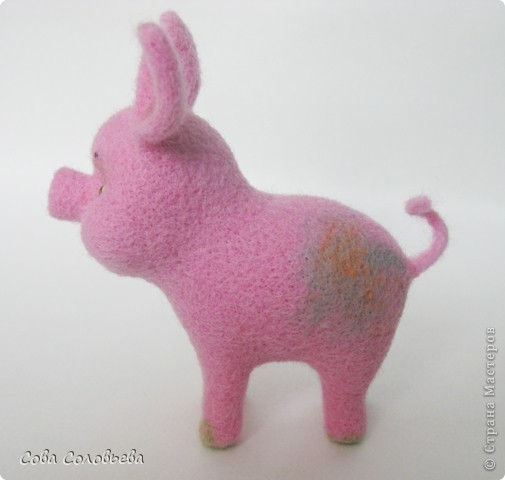 валяшка Свинка. фото 2
