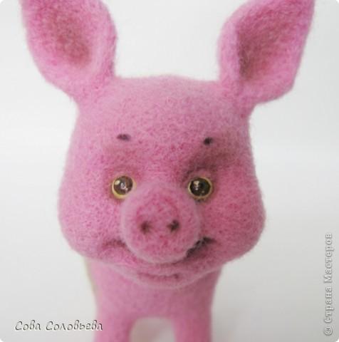 валяшка Свинка. фото 5