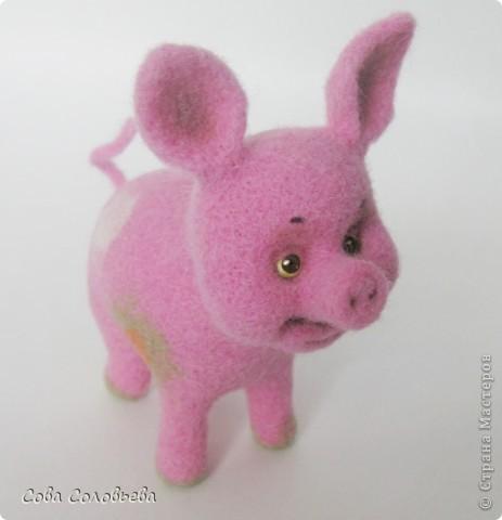 валяшка Свинка. фото 6