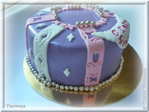 Совсем простой тортик фото 3