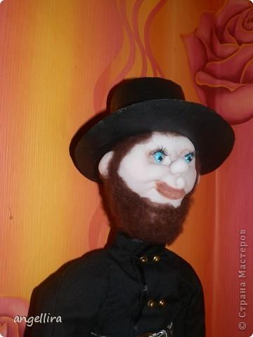 Трубочист намбер 2 :) к сожалению в спешке забыла его сфотать с гламурной лестницей и шляпу я ему поменяла. фото 3