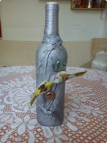 Декорация на бутилки фото 4