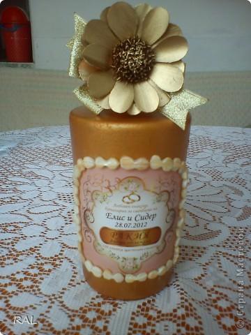 Декорация на бутилки фото 5