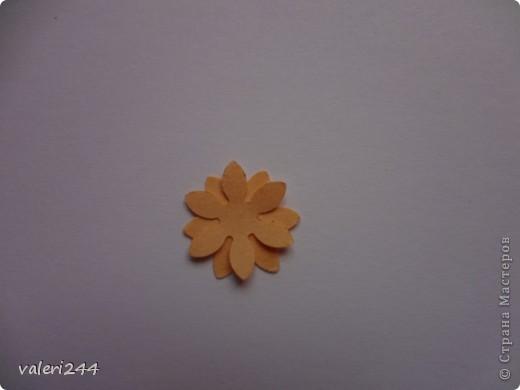 """Всем здравствуйте! Вот выставляю на показ мой первый топинарчик, который я назвала """"Рыжий-Рыжик"""".Плюс хочу выставить маленький мк по цветочкам.Делать их очень легко. (Если кто-то до меня делал такое мк ,не обижайтесь,догадалася как сделать эти цветочки сама.) Для таких цветочков нам понадобится: -бумага -силуэтный дырокол в виде цветочка или канцелярский нож -бисер или бусинки -и конечно же клей (лучше не карандаш) фото 4"""