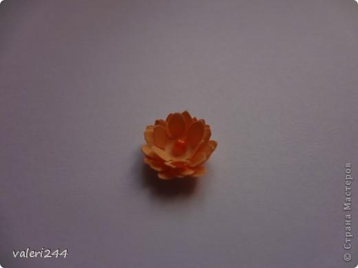 """Всем здравствуйте! Вот выставляю на показ мой первый топинарчик, который я назвала """"Рыжий-Рыжик"""".Плюс хочу выставить маленький мк по цветочкам.Делать их очень легко. (Если кто-то до меня делал такое мк ,не обижайтесь,догадалася как сделать эти цветочки сама.) Для таких цветочков нам понадобится: -бумага -силуэтный дырокол в виде цветочка или канцелярский нож -бисер или бусинки -и конечно же клей (лучше не карандаш) фото 9"""