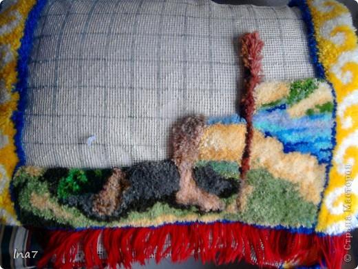 Плетение ковриков своими руками на сетке