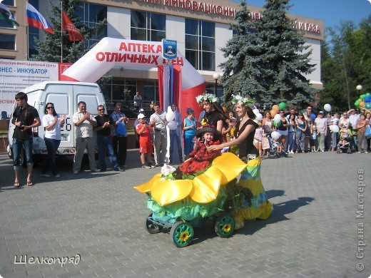 В седьмой раз поводят в нашем городе парад колясок. В первую очередь хочу показать ту коляску, которая мне понравилась больше всего. фото 5