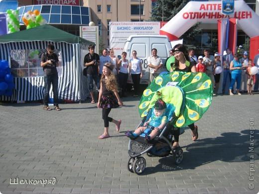 В седьмой раз поводят в нашем городе парад колясок. В первую очередь хочу показать ту коляску, которая мне понравилась больше всего. фото 6