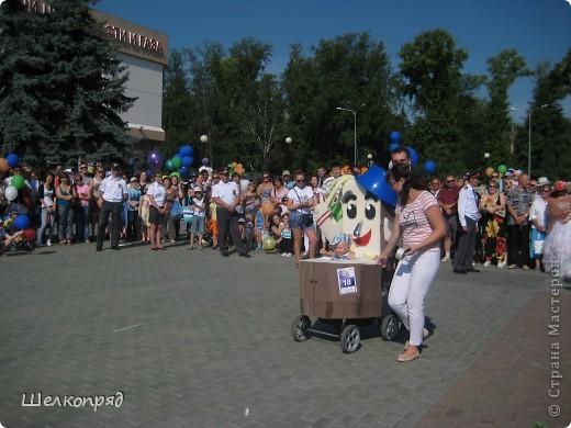 В седьмой раз поводят в нашем городе парад колясок. В первую очередь хочу показать ту коляску, которая мне понравилась больше всего. фото 11