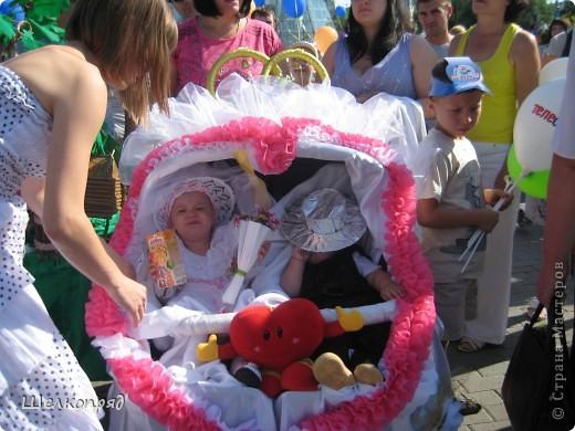 В седьмой раз поводят в нашем городе парад колясок. В первую очередь хочу показать ту коляску, которая мне понравилась больше всего. фото 13