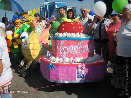 В седьмой раз поводят в нашем городе парад колясок. В первую очередь хочу показать ту коляску, которая мне понравилась больше всего. фото 14