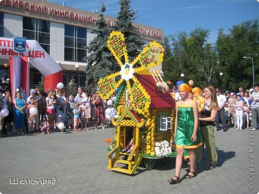 В седьмой раз поводят в нашем городе парад колясок. В первую очередь хочу показать ту коляску, которая мне понравилась больше всего. фото 1