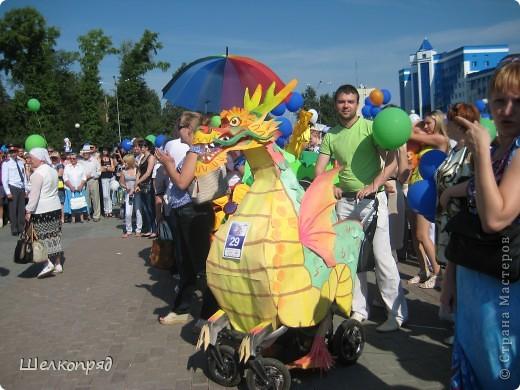 В седьмой раз поводят в нашем городе парад колясок. В первую очередь хочу показать ту коляску, которая мне понравилась больше всего. фото 20