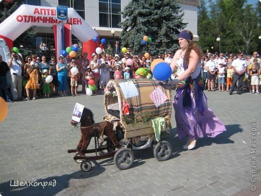 В седьмой раз поводят в нашем городе парад колясок. В первую очередь хочу показать ту коляску, которая мне понравилась больше всего. фото 32