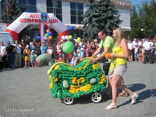 В седьмой раз поводят в нашем городе парад колясок. В первую очередь хочу показать ту коляску, которая мне понравилась больше всего. фото 36
