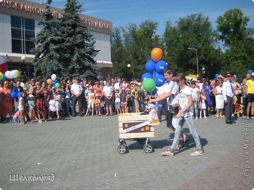 В седьмой раз поводят в нашем городе парад колясок. В первую очередь хочу показать ту коляску, которая мне понравилась больше всего. фото 39