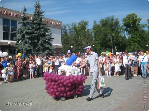 В седьмой раз поводят в нашем городе парад колясок. В первую очередь хочу показать ту коляску, которая мне понравилась больше всего. фото 44