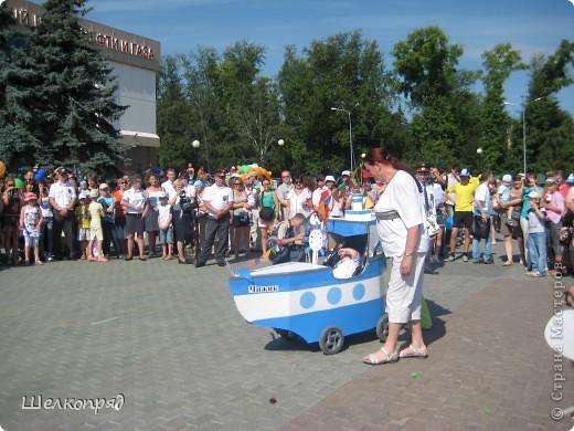 В седьмой раз поводят в нашем городе парад колясок. В первую очередь хочу показать ту коляску, которая мне понравилась больше всего. фото 45