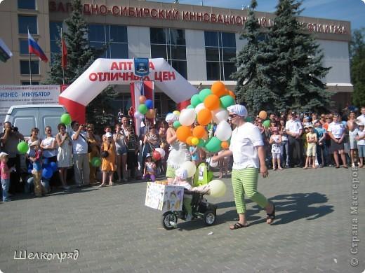 В седьмой раз поводят в нашем городе парад колясок. В первую очередь хочу показать ту коляску, которая мне понравилась больше всего. фото 26
