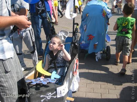 В седьмой раз поводят в нашем городе парад колясок. В первую очередь хочу показать ту коляску, которая мне понравилась больше всего. фото 52