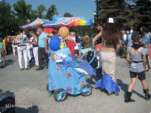 В седьмой раз поводят в нашем городе парад колясок. В первую очередь хочу показать ту коляску, которая мне понравилась больше всего. фото 53