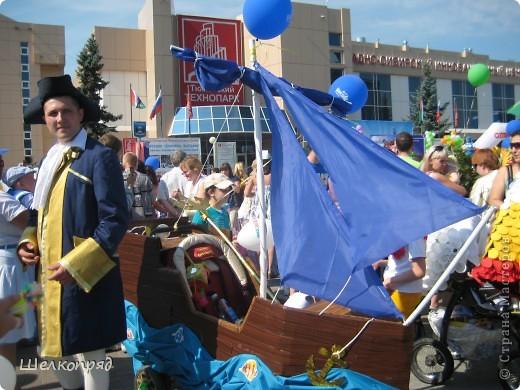 В седьмой раз поводят в нашем городе парад колясок. В первую очередь хочу показать ту коляску, которая мне понравилась больше всего. фото 54