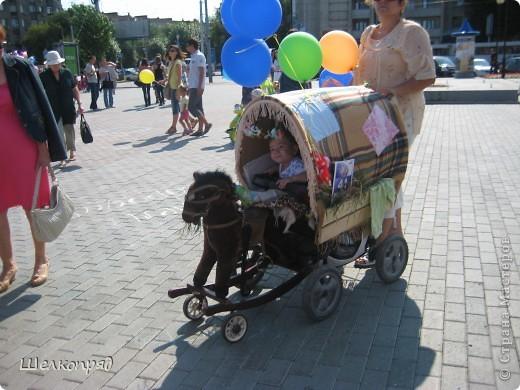 В седьмой раз поводят в нашем городе парад колясок. В первую очередь хочу показать ту коляску, которая мне понравилась больше всего. фото 55
