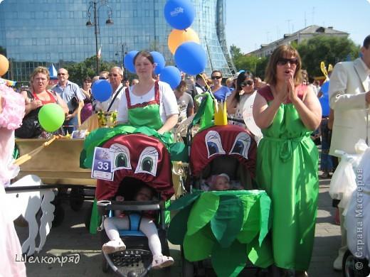В седьмой раз поводят в нашем городе парад колясок. В первую очередь хочу показать ту коляску, которая мне понравилась больше всего. фото 25