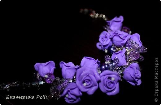 """Браслет """"Фиолетовые мечты"""" фото 1"""