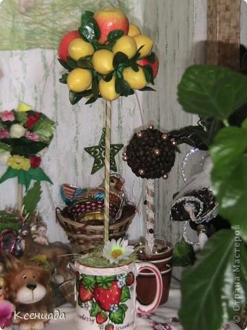 Как же мне понравилось это занятие!!! Лимоно-яблоневое деревце!!! фото 1