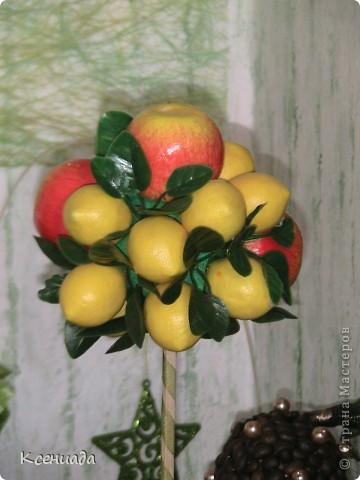 Как же мне понравилось это занятие!!! Лимоно-яблоневое деревце!!! фото 3