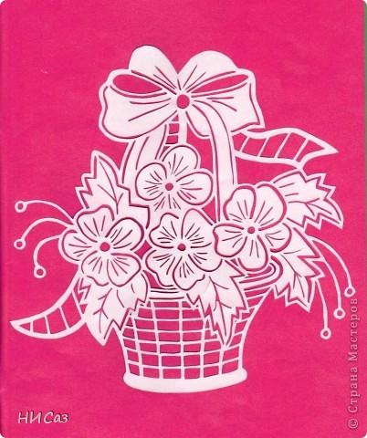 Корзинка с цветами фото 5