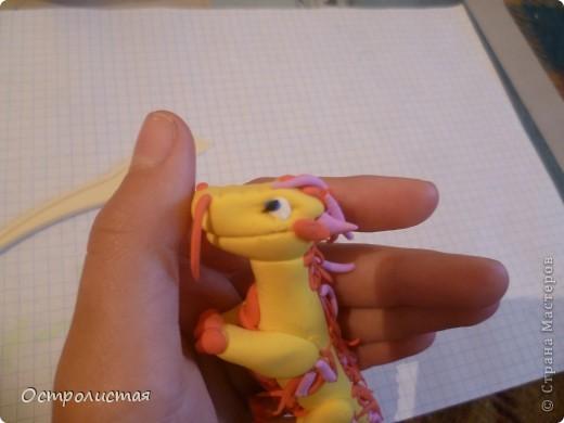 Здравствуйте! Сегодня мы сделаем дракона ,нам нужны: фимо(или пластика),стеки и руки-крюки! фото 49