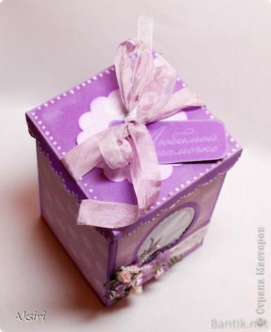 Коробочка для небольшого подарка фото 2