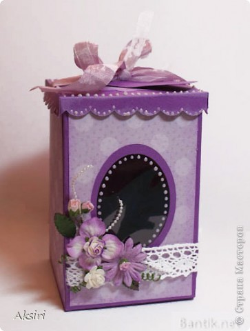 Коробочка для небольшого подарка фото 1