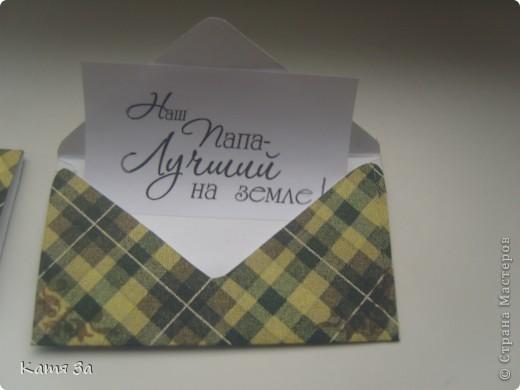 Вот такой у меня получился мужской конвертик на юбилей. фото 5