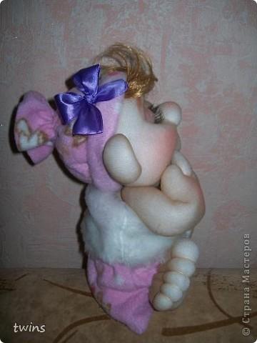 малышка в мешочке по МК Елены Лаврентьевой (pawy) фото 2