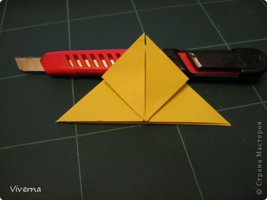 спросили меня в этой работе, как бабочку делала... http://stranamasterov.ru/node/396350  поискала, не нашла в СМ, чтобы ссылку дать..может искала не так....сама я ее научилась делать еще на заре увлечения оригами, лет 10 назад, в какой-то детской книжке...а т.к. складывается бабочка до невозможного просто, то сделав ее один раз, Вы уже никогда не забудете, как ее сделать )) фото 3