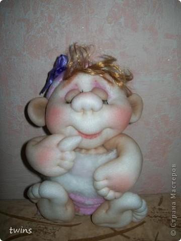малышка в мешочке по МК Елены Лаврентьевой (pawy) фото 5