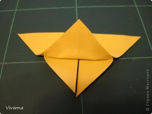 спросили меня в этой работе, как бабочку делала... http://stranamasterov.ru/node/396350  поискала, не нашла в СМ, чтобы ссылку дать..может искала не так....сама я ее научилась делать еще на заре увлечения оригами, лет 10 назад, в какой-то детской книжке...а т.к. складывается бабочка до невозможного просто, то сделав ее один раз, Вы уже никогда не забудете, как ее сделать )) фото 5