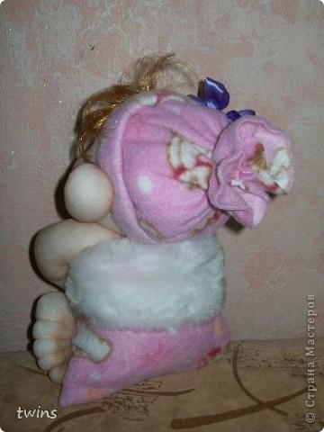 малышка в мешочке по МК Елены Лаврентьевой (pawy) фото 3