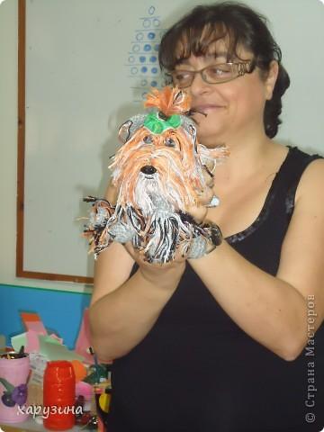 Пятиклассник Маор демонстрирует изготовленную им птицу-марионетку. фото 7
