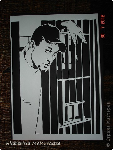 """Роберт Лайл Неппер (Robert Lyle Knepper) в роли наверно самого негативного  героя и в тоже время публика признала его лучшим героем очень знаменитого телесериала """"Побег из тюрьмы"""" - ТЕОДОР БЭГВЕЛЛ - Ти-Бэг (Theodore Bagwell)!!!    Эту работу я посвящаю дорогому мне человеку - моему супругу. Спросите: """"как??? такого героя и мужу???"""" А именно благодаря этому сериалу и именно этому Ти-Бэгу мы с ним и познакомились ))) Но это уже другая история...)))  фото 1"""
