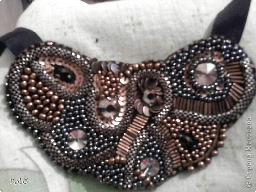 ожерелье все из бронзы и гематита фото 1