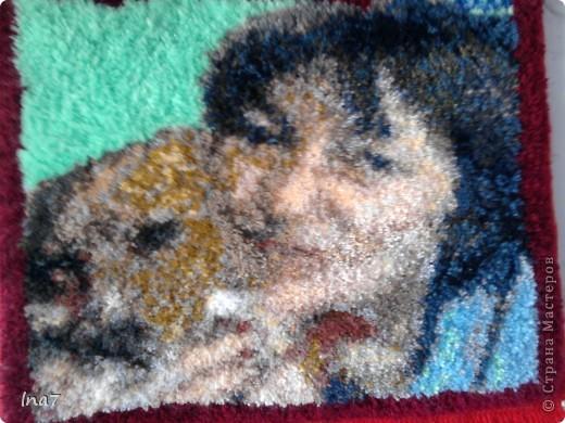Коврик - портрет фото 1