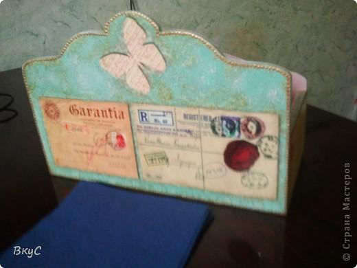 коробочка для писем.  фото 2